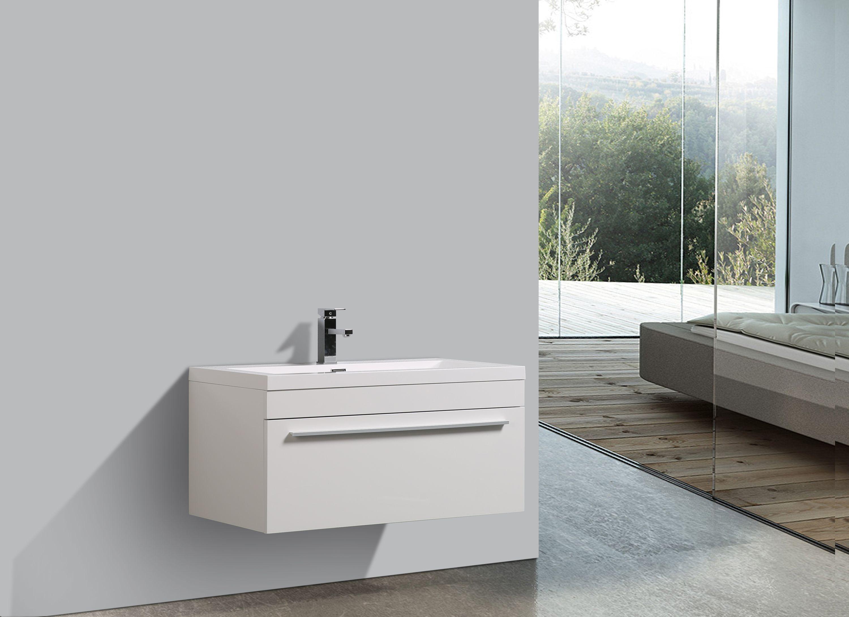 Badmöbel-Set T900 Weiß